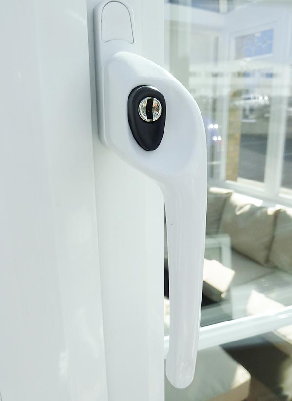 Classic White Window Handle