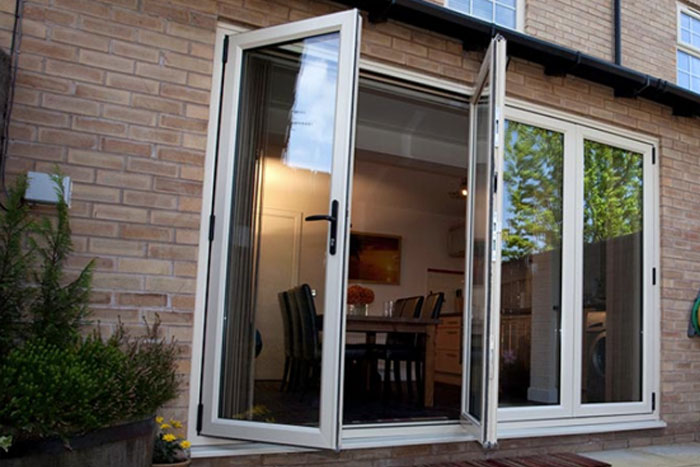 BiFold Doors - A&B Glass Home Improvements